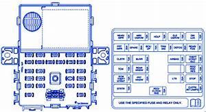 Chevrolet Spark 2009 Instrument Panel Fuse Box  Block