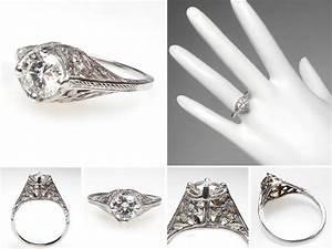Beautiful vintage wedding rings 1920 wedwebtalks for 1920 wedding rings