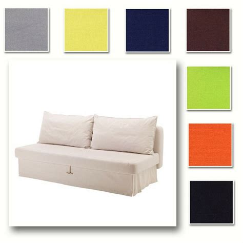 custom ikea slipcovers custom made cover fits ikea himmene three seat sofa bed