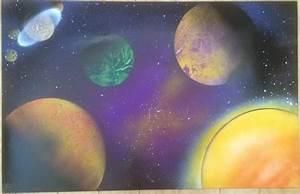 Foreign Solar Systems - Fantasy Spray Paint Art