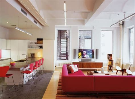 Creative Family New York Loft by Tribeca Family Loft Projects Colorful Cheerful Vibes