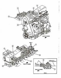 1999 Mazda B2500 Engine Diagram