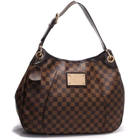 www louisvuitton de r 233 plica de bolsa louis vuitton galliera damier ebene gm couro