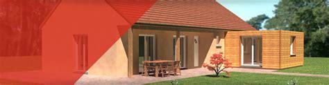 extension maison bois kit