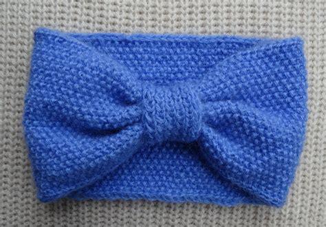 tuto bandeau bébé fille bandeau au point de riz tricoter tricot crochet