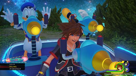 what does 100 square look kingdom hearts iii and hd 2 8 trailers shown at d23