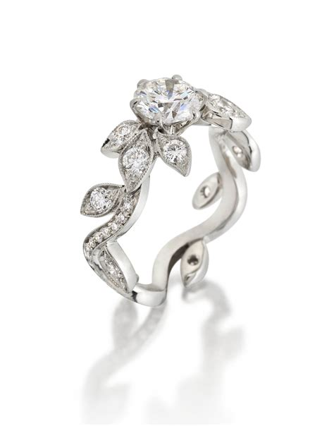 Alix & Company Makes Jewelry Bouquet Leaf & Vine Ring