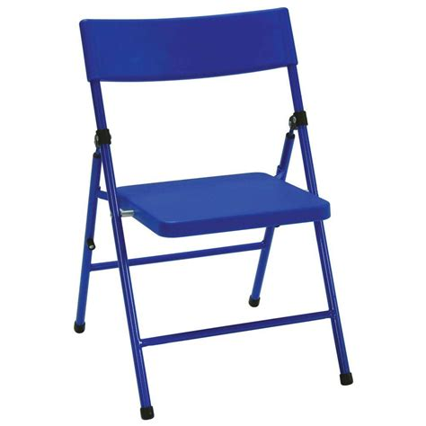 cosco blue folding chair set of 4 14301blu4e the