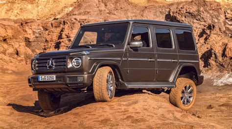 Mercedes 2019 G Wagon by 2019 Mercedes G Class Unveiled In Its Entirety