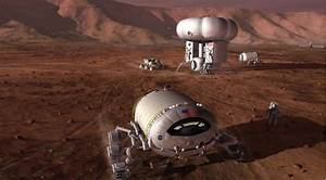 Think Tank Turns Its Attention To Mars as 2016 Election Looms