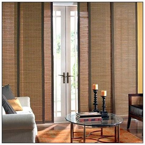 patio door window treatments for the home