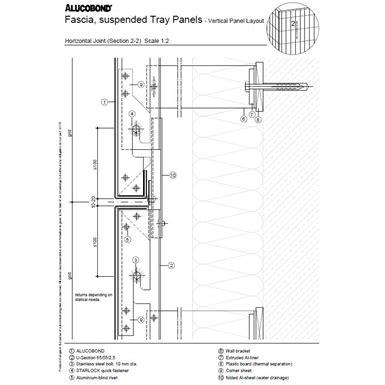 alucobond hooked  system alucobond  bim object  revit archicad archicad bimobject