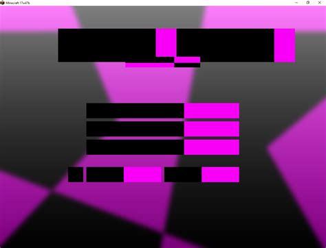 mcl  missing textures  minecraft homescreen jira
