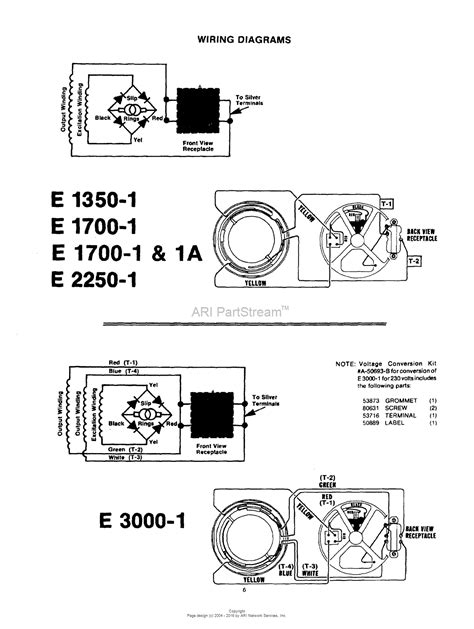 Homelite Wiring Diagram by Homelite E1350 1 Generator Ut 03575 Parts Diagram For