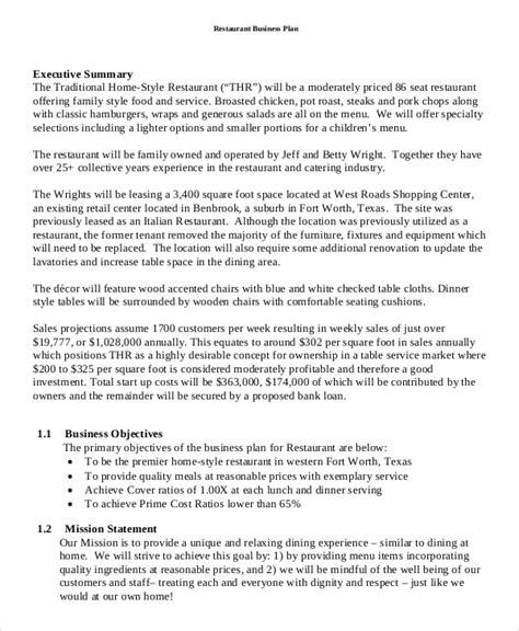 business plan templates word  docs