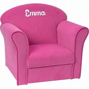 Fauteuil Enfant Personnalisable : fauteuil club enfant personnalis luxe rose ~ Melissatoandfro.com Idées de Décoration