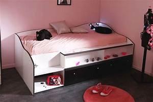 davausnet canape chambre fille ikea avec des idees With lit canapé ado