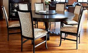 Choose Round Dining Table for 6 - MidCityEast