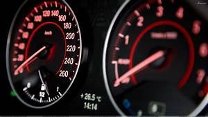 2012 BMW 1 Series SpeedoMeter Wallpaper