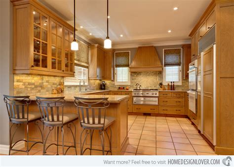warm kitchen designs 15 lovely and warm country styled kitchen ideas home 3352