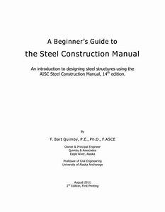 The Steel Construction Manual
