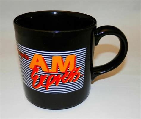 All orders are custom made and most ship worldwide within 24 hours. **RARE** Vintage Burger King Restaurant Advertising AM EXPRESS Coffee Mug | eBay