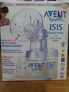 Mayeesa U0026 39 S Preloved  Avent Naturally Isis Manual Breast Pump