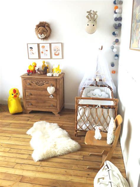 idée déco chambre bébé mixte inspirations idées déco pour une chambre bébé nature et poétique