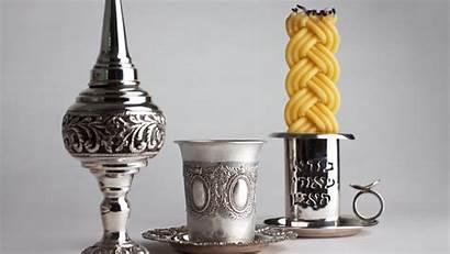 Havdalah Jewish Candle Shabbat Box Spice Kiddush