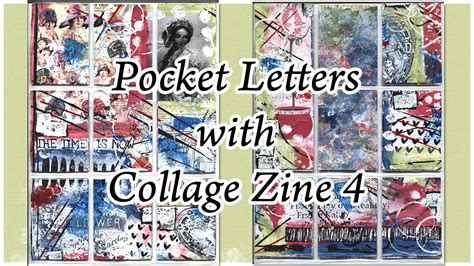 collage pocket letter  collage zine  youtube