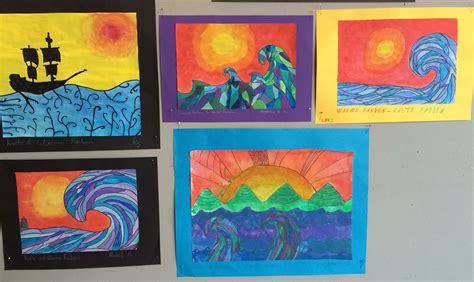 kalte und warme farben bildnerische erziehung