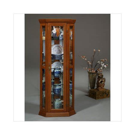 curio cabinets walmart orleans furniture jacobson magnolia classics corner curio