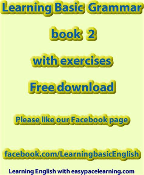 basic grammar book 2 with exercises pdf free