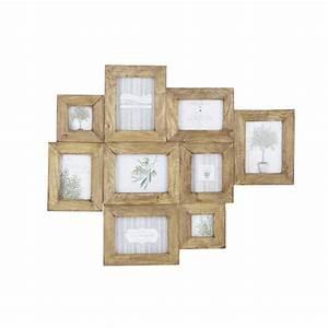 Cadre Photo Multivue : cadre photo multivues en manguier effet vieilli 69 x 84 cm agenais maisons du monde ~ Teatrodelosmanantiales.com Idées de Décoration