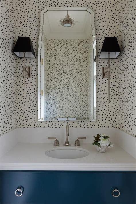 bathrooms thibaut tanzania wallpaper black  cream design