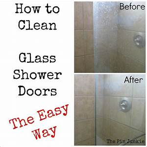 Win glass shower door cleaner pinterest fail for How to clean bathroom with vinegar