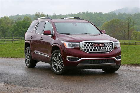 gmc acadia review  rating motor trend