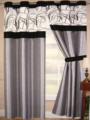 best tussock grey luxurious grommet curtain set panel on