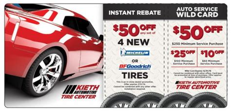 tire store direct mail marketing mailer