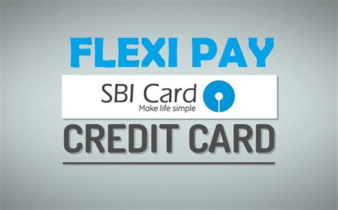 How To Book Flexipay In Sbi Credit Card ? [onlinesmscall]