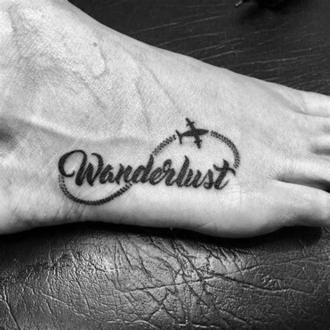 ausgefallene wanderlust tattoo ideen fuer abenteurer