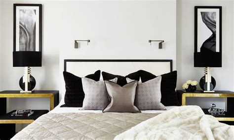silver chandelier 35 timeless black and white bedrooms that how to