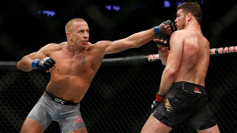 ufc  gsp whittaker  perth fight sports