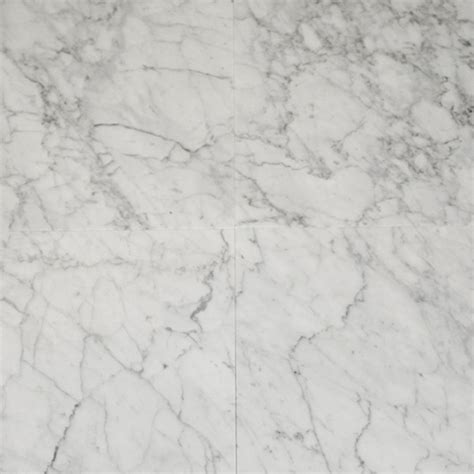 Bianco 12x12 Granite Tile by Carrara Marble Bianco Gioia 12 Quot X 12 Quot Honed Tile Shop