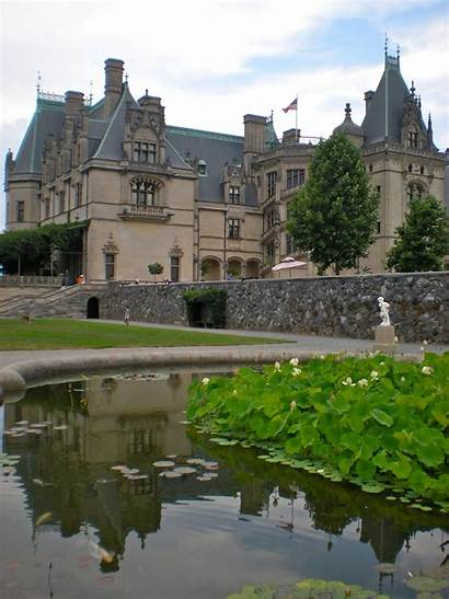 Biltmore Estate Visit Intern Nc Reflection Pond