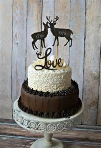 camouflage engagement rings buck and doe wedding cake toppers with groom wedding cake topper deer buck and doe