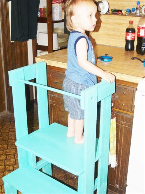 hometalk home built stepping stool  kitchen helpers