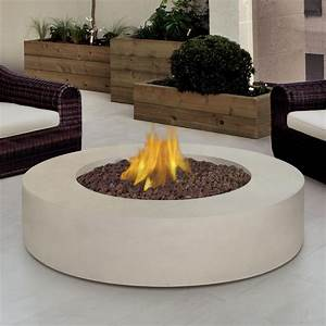 Real, Flame, Mezzo, 42-inch, Propane, Gas, Fire, Pit, Table, -, Round