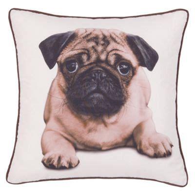 buy ff home pug cushion   cushions range tesco