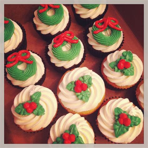 christmas cupcakes cakes by becky december 2012